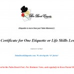 Gift Certificate One Class